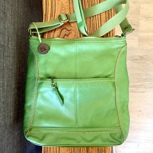 The Sak Moss Green Crossbody Purse